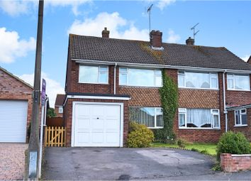 Thumbnail 3 bed semi-detached house for sale in Washbourne Road, Royal Wootton Bassett