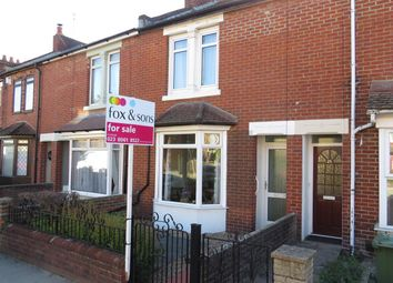 Thumbnail 2 bed terraced house for sale in The Crescent, Eastleigh