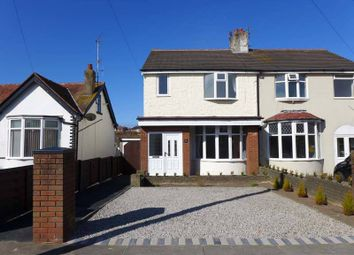 Thumbnail 3 bed semi-detached house for sale in Mossom Lane, Thornton-Cleveleys