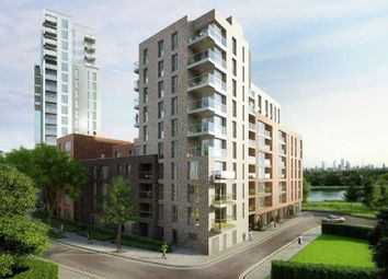Thumbnail 2 bed flat for sale in Skylark Point, Woodberry Grove, London