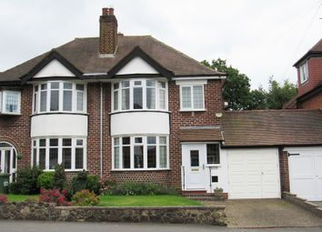 Thumbnail 3 bed semi-detached house for sale in Brookvale Road, Solihull
