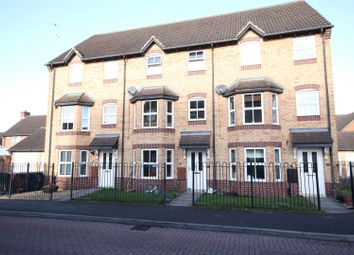 Thumbnail 3 bed terraced house for sale in Wye Close, Hilton, Derby