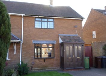 Thumbnail 2 bed semi-detached house to rent in Brindley Avenue, Wednesfield