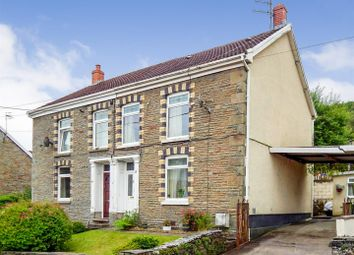 Thumbnail 3 bedroom semi-detached house for sale in Penywern Road, Ystalyfera, Swansea