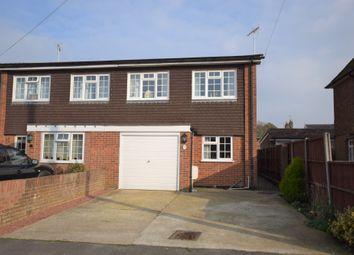 Thumbnail 3 bed semi-detached house for sale in Brockenhurst Road, Aldershot