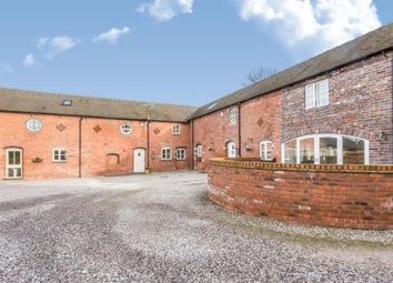 Thumbnail 3 bed barn conversion for sale in Radway Green Barns, Radway Green, Alsager, Cheshire