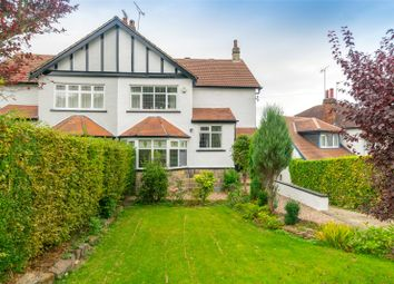 Thumbnail 4 bed semi-detached house for sale in Weetwood Avenue, Leeds, West Yorkshire