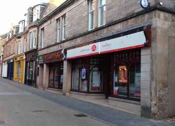 Thumbnail Retail premises for sale in Batchen Street, Elgin