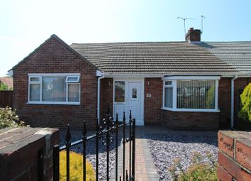 Thumbnail 2 bedroom semi-detached bungalow for sale in Crosslea Avenue, Sunderland