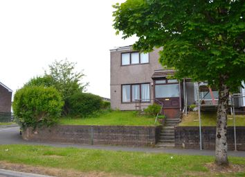 Thumbnail 2 bedroom end terrace house for sale in Aneurin Way, Sketty, Swansea