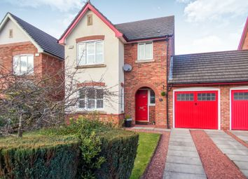 Thumbnail 3 bed detached house for sale in Warwick Grove, Bedlington
