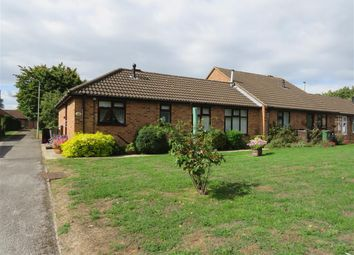 Thumbnail 2 bed terraced bungalow for sale in De Montfort Close, Loughborough