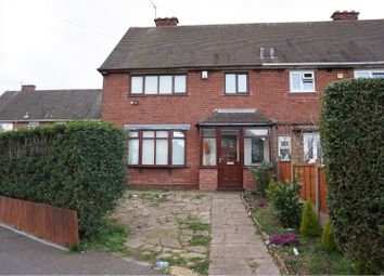Thumbnail 3 bedroom semi-detached house for sale in Hardy Road, Walsall