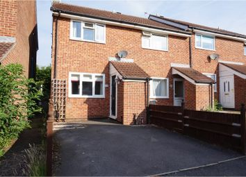 Thumbnail 2 bed end terrace house for sale in Portsdown Close, Maidstone
