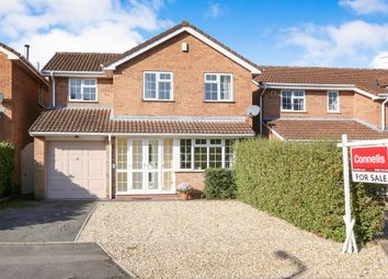 Thumbnail 4 bed detached house for sale in Cranesbill Close, Featherstone, Wolverhampton