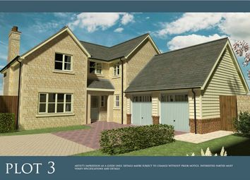 Thumbnail 5 bed detached house for sale in Spalding Road, Deeping St. James, Peterborough