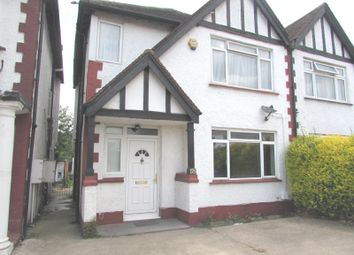 Thumbnail 3 bed semi-detached house to rent in St Johns Road, Wembley, Middlesex