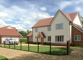 Thumbnail 5 bed detached house for sale in Heath Loke, Poringland, Norwich