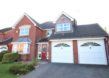 Thumbnail 4 bed detached house for sale in Burnt Oak Close, Nuthall, Nottingham