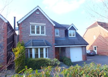 Thumbnail 4 bedroom detached house for sale in Turstin Drive, Fleet