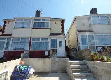 Thumbnail 2 bedroom semi-detached house for sale in Plymouth, Devon