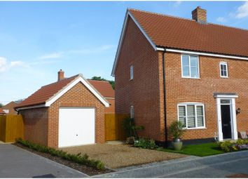 Thumbnail 3 bedroom semi-detached house for sale in Dudley Close, Watton