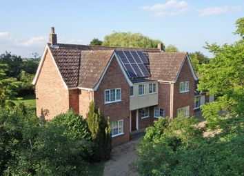 Thumbnail 4 bed detached house for sale in George Lane, Stanton, Bury St. Edmunds