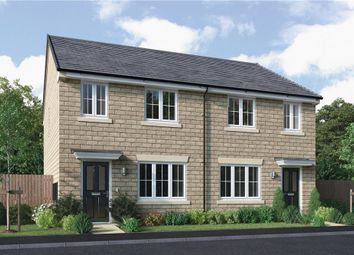 "Thumbnail 3 bedroom semi-detached house for sale in ""Overton"" at King Street, Drighlington, Bradford"