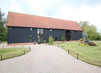 Thumbnail 7 bed barn conversion for sale in Martins Lane, Clopton, Woodbridge, Suffolk