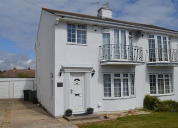 Thumbnail 3 bed semi-detached house for sale in Cooden Drive, Bexhill-On-Sea