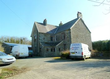 Thumbnail 7 bed detached house for sale in Frondrigarn, Crymych, Pembrokeshire