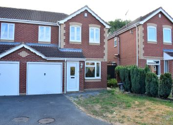 Thumbnail 3 bed semi-detached house to rent in Morland Drive, Hinckley, Leicestershire