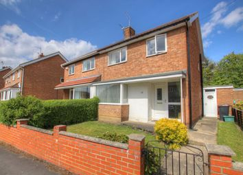 Thumbnail 3 bed semi-detached house for sale in Leesfield Gardens, Meadowfield, Durham