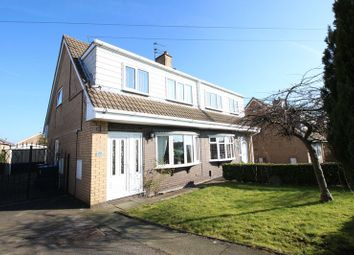 Thumbnail 3 bed semi-detached house for sale in Tower Close, Brown Lees