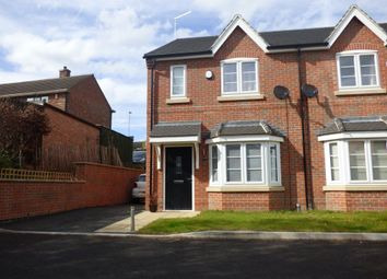 Thumbnail 3 bed terraced house to rent in Patient Close, Beeston