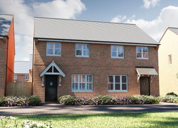"Thumbnail 3 bed semi-detached house for sale in ""The Studland"" at Omega Boulevard, Warrington"