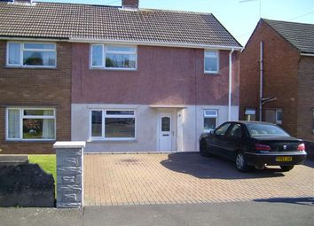 Thumbnail 3 bed semi-detached house for sale in Heol Nant, Tonteg, Pontypridd