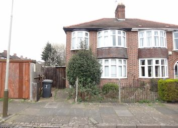 Thumbnail 3 bed semi-detached house for sale in Egerton Avenue, Near Abbey Lane, Leicester