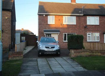 Thumbnail 3 bed semi-detached house for sale in Barrasford Road, Mayfield Glade, Cramlington