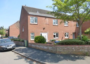 Thumbnail 3 bedroom end terrace house for sale in Tunstall Close, Norwich