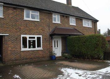 Thumbnail 3 bed terraced house for sale in Rutson Road, Byfleet, Surrey