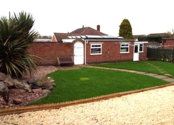 Thumbnail 1 bed bungalow to rent in Goodes Lane, Syston, Leicester