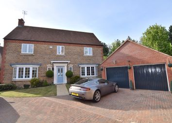 Thumbnail 4 bed detached house for sale in Long Hassocks, Rugby, Warwickshire