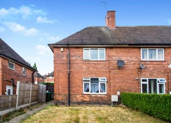 Thumbnail 3 bed end terrace house for sale in Teviot Road, Nottingham