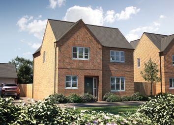 "Thumbnail 4 bed detached house for sale in ""The Sawley"" at Bretch Hill, Banbury"