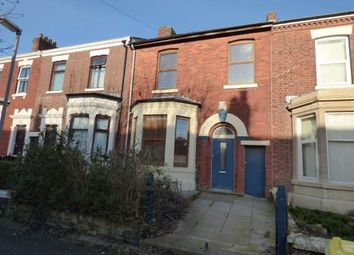 Thumbnail 4 bedroom terraced house for sale in Brackenbury Road, Preston, Lancashire