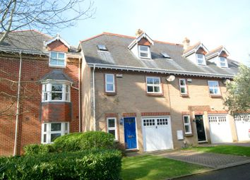 Thumbnail 4 bed town house for sale in Braidley Road, Meyrick Park, Bournemouth, Dorset