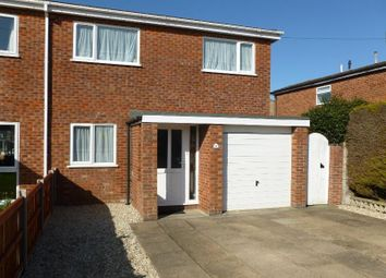 Thumbnail 3 bed semi-detached house to rent in 17 Childs Road, Hethersett, Norwich, Norfolk