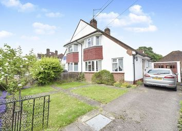 Thumbnail 3 bed semi-detached house for sale in Dukes Avenue, Kingston Upon Thames
