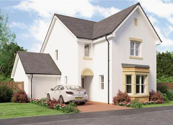 "Thumbnail 4 bed detached house for sale in ""Esk"" at Broomhouse Crescent, Uddingston, Glasgow"